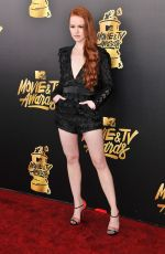 MADELAINE PETSCH at 2017 MTV Movie & TV Awards in Los Angeles 05/07/2017