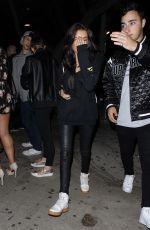 MADISON BEER Leaves Pepermint Nightclub in Los Angeles 05/15/2017