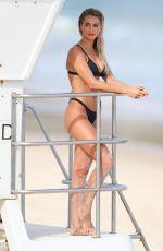 MADISON EDWARDS in Bikini on the Set of a Photoshoot in Sydney 05/01/2017