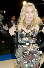 MADONNA at 2017 MET Gala in New York 05/01/2017