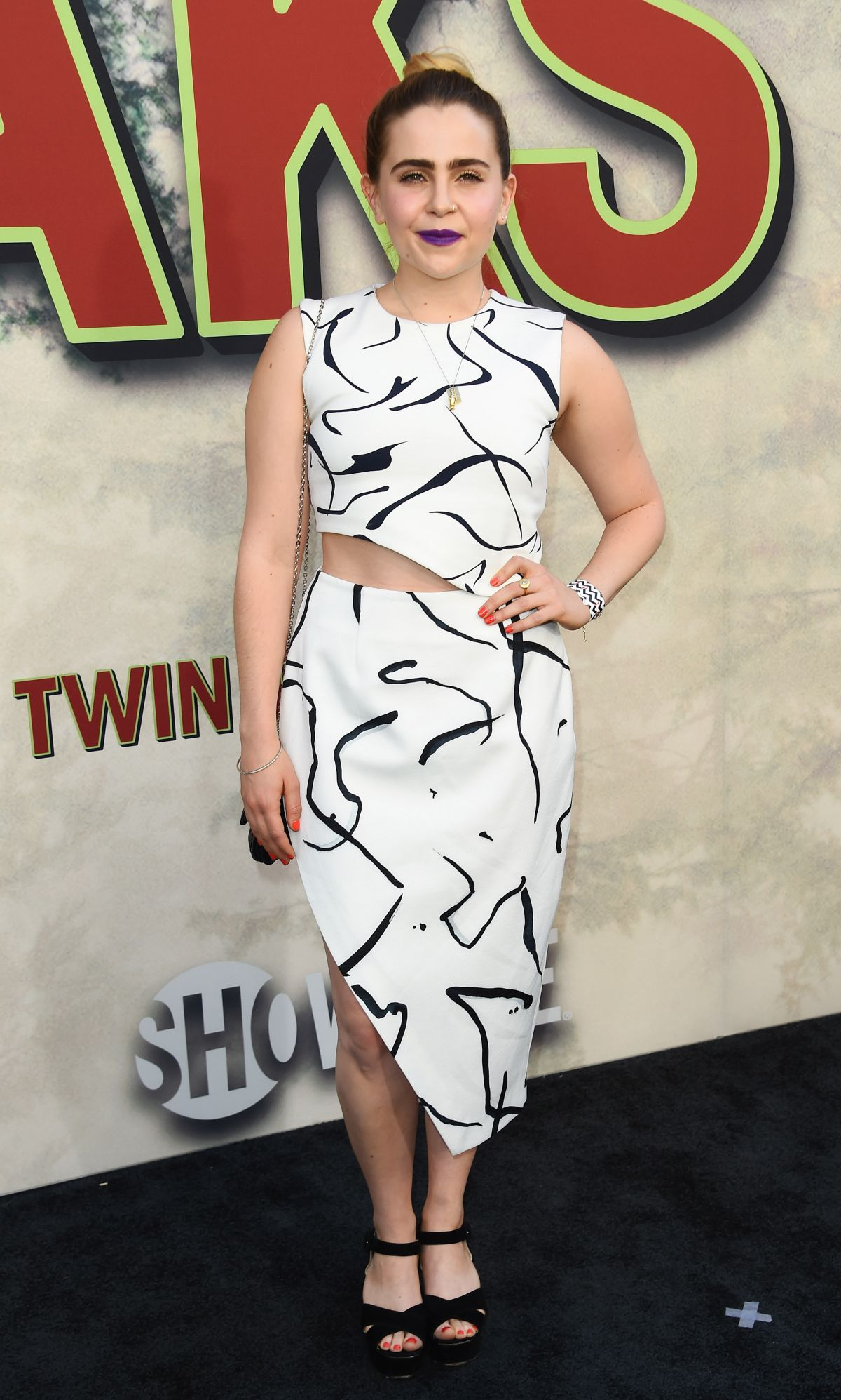 MAE WHITMAN at Twin Peaks Premiere in Los Angeles 05/19/2017
