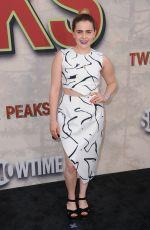 MAE WHITMAN at Twin Peaks Premiere in Los Angeles 05/19/2017