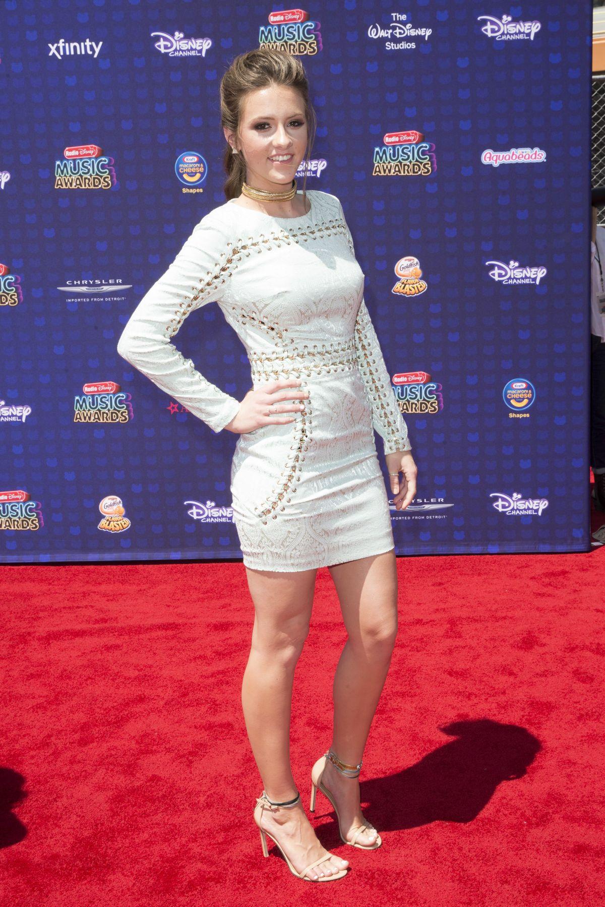MAGGIE BAUGH at 2017 Radio Disney Music Awards in Los Angeles 04/29/2017
