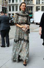 MAGGIE GYLLENHAAL at Zero Bond Street in New York 05/23/2017