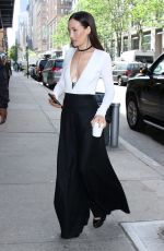 MAGGIE Q Arrives at Wendy Williams Show in New York 05/10/2017