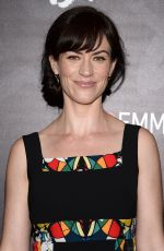MAGGIE SIFF at Billions Series Panel in New York 05/05/2017