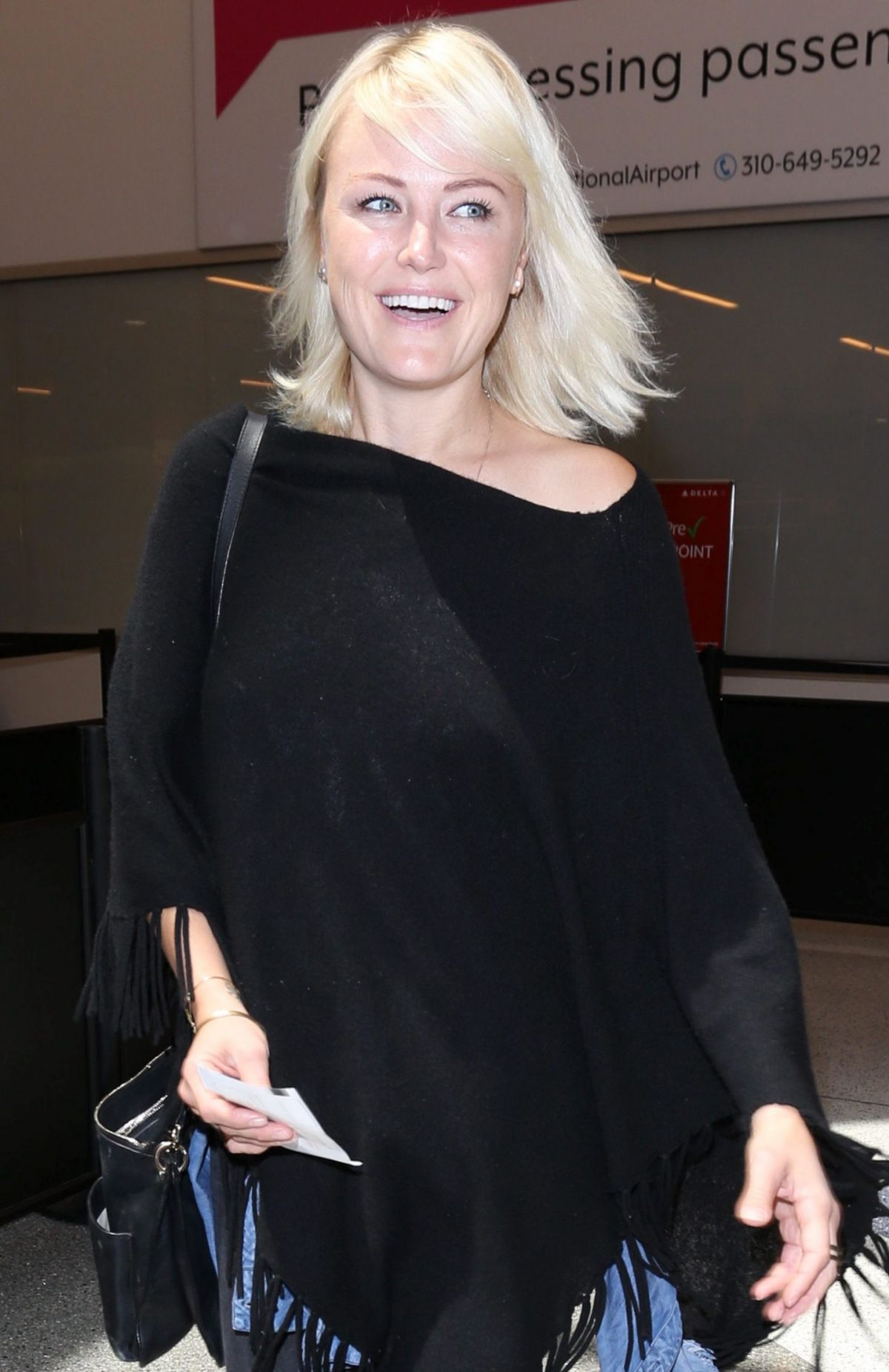 MALIN AKERMAN Arrives at LAX Airport in Los Angeles 05/08 ...