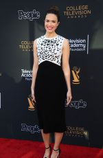 MANDY MOORE at 2017 College Television Awards in Los Angeles 05/24/2017