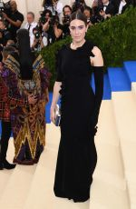 MANDY MOORE at 2017 MET Gala in New York 05/01/2017