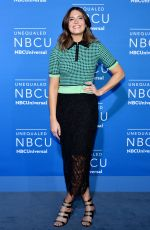 MANDY MOORE at NBC/Universal Upfront in New York 05/15/2017