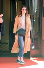 MANDY MOORE Out and About in New York 05/02/2017