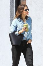 MANDY MOORE Out and About in West Hollywood 05/30/2017