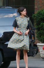 MARGARET QUALLEY Leaves Bowery Hotel in New York 05/03/2017