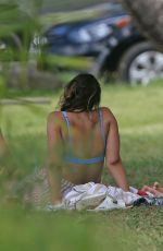 MARGOT ROBBIE Having Picnic with Friends in Kauai 05/14/2017