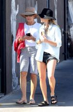 MARGOT ROBBIE Out and About in Venice 05/02/2017