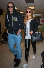 MARIA MENOUNOS at Los Angeles International Airport 05/21/2017