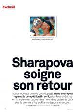 MARIA SHARAPOVA in Le Marisien Magazine, May 2017