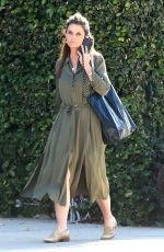MARIA SHRIVER Out and About in Brentwood 05/22/2017