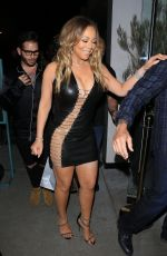 MARIAH CAREY at Catch LA in West Hollywood 05/02/2017