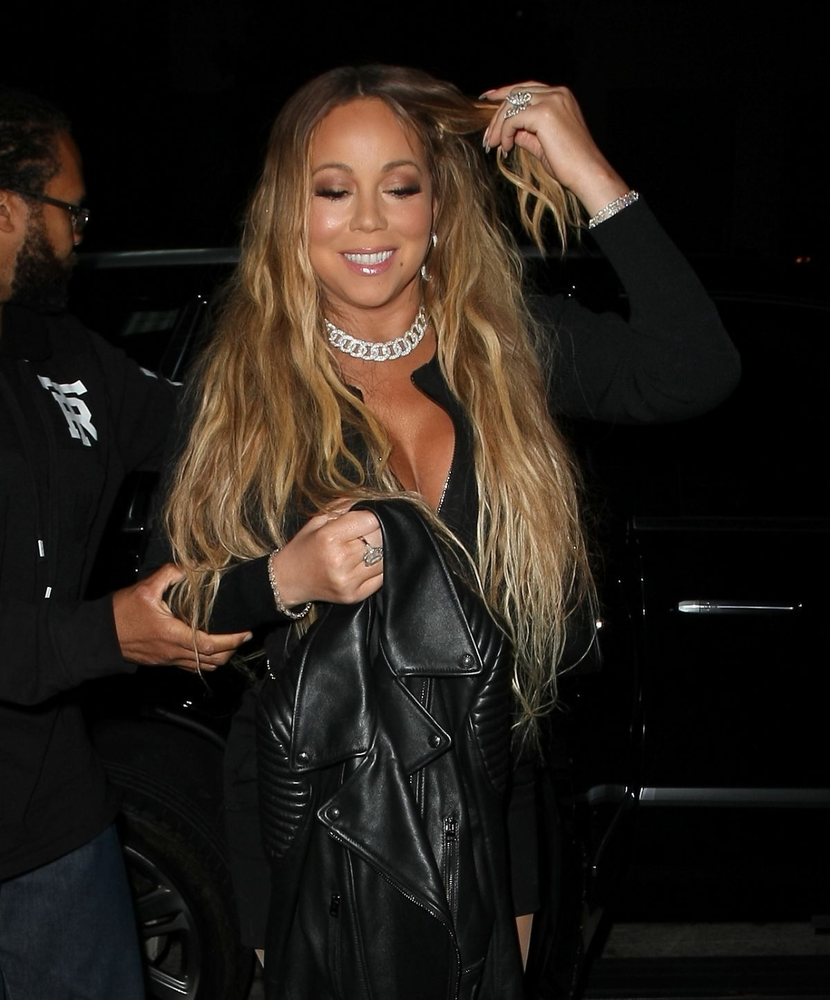 MARIAH CAREY at Catch LA in West Hollywood 05/25/2017