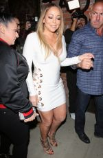 MARIAH CAREY Night Out in Hollywood 05/04/2017