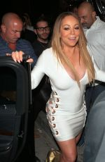 MARIAH CAREY Night Out in Los Angeles 05/04/2017
