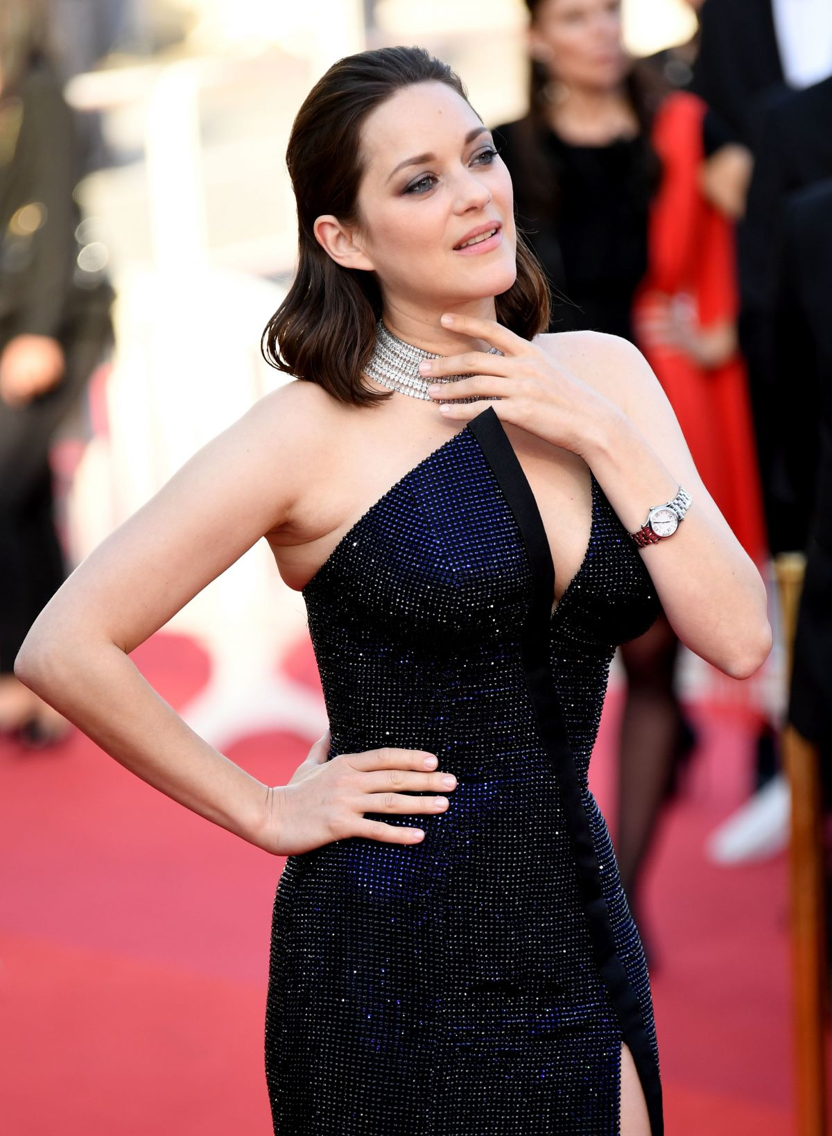 MARION COTILLARD at Anniversary Soiree at 70th Annual Cannes Film Festival 05/23/2017