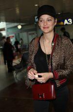 MARION COTILLARD at Nice Airport 05/22/2017