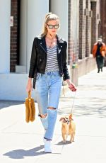 MARTHA HUNT Out and About in New York 05/04/2017