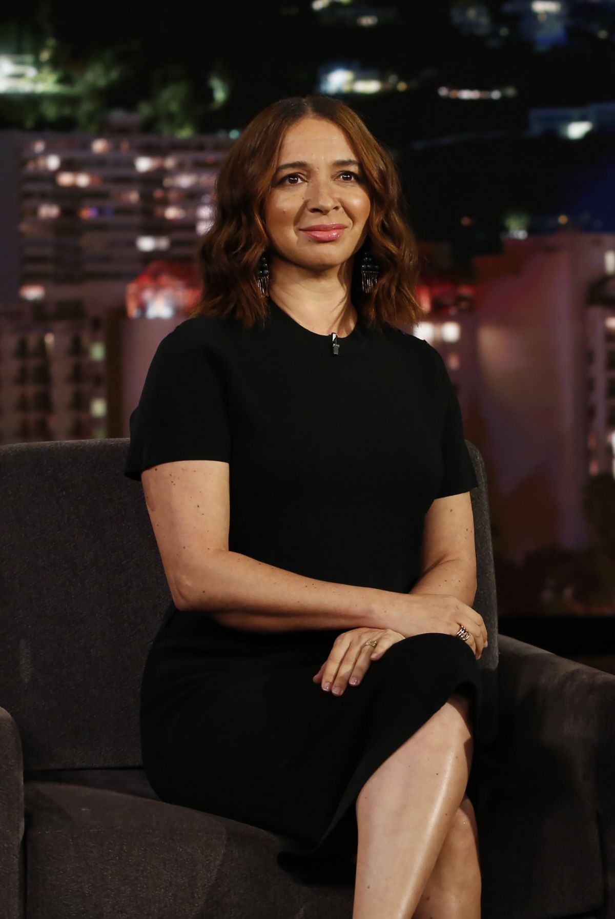 MAYA RUDOLPH at Jimmy Kimmel Live 05/02/2017