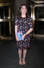 MAYIM BIALIK Promotes Her New Book Girling Up How To Be Strong, Smart and Spectacular in New York 05/11/2017