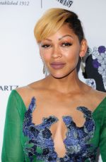 MEAGAN GOOD at Wearable Art Gala at California African American Museum in Los Angeles 04/29/2017