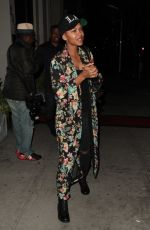 MEAGAN GOOD Out for Dinner in Beverly Hills 05/23/2017