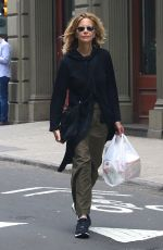 MEG RYAN Out and About in New York 05/27/2017