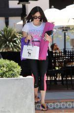 MEGAN FOX in Leggings Leaves Pilates Class in Los Angeles 05/19/2017