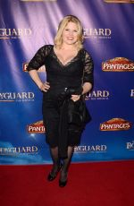 MEGAN HILTY at The Bodyguard Opening Night in Los Angeles 05/02/2017