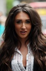 MEGAN MCKENNA Out and About in London 05/02/2017