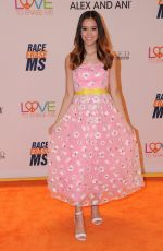 MEGAN NICOLE at 24th Annual Race to Erase MS Gala in Beverly Hills 05/05/2017