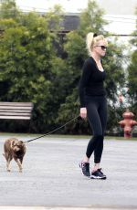 MELANIE GRIFFITH Take Her Dog to Vet Clinic in Los Angeles 05/30/2017