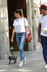MELISSA SATTA Out and About in Milan 05/23/2017