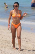 METISHA SCHAEFER in Bikini at a Beach in Miami 05/27/2017