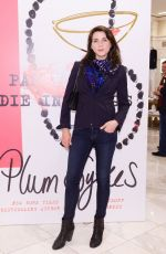 MICHELE HICKS at Party Girls Die in Pearls Book Launch Party in New York 05/09/2017