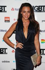 MICHELLE HEATON at British LGBT Awards in London 05/12/2017
