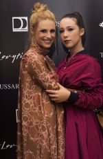 MICHELLE HUNZIKER at Julian Hargreaves Photo Exhibition in Milan 05/09/2017