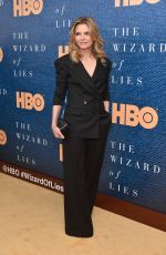 MICHELLE PFEIFFER at The Wizard Of Lies Screening in New York 05/11/2017