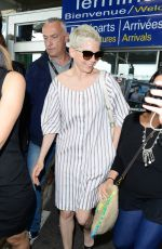 MICHELLE WILLIAMS Arrives at Airport in Nice 05/17/2017
