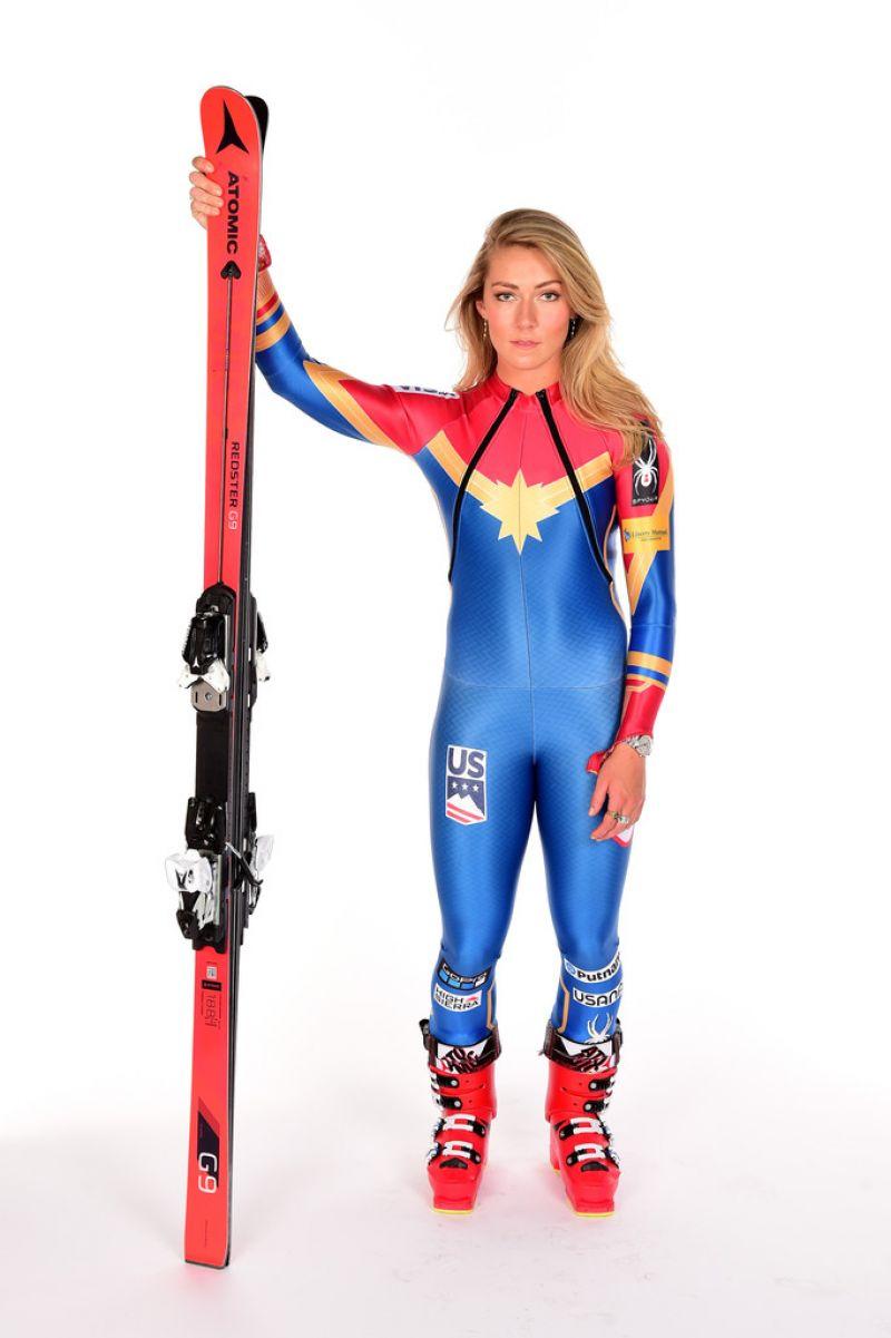 MIKAELA SHIFFRIN u2013 Team USA PyeongChang 2018 Winter Olympics Portraits - HawtCelebs