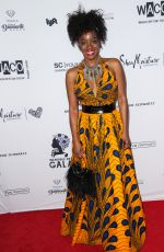 MILAUNA JACKSON at Wearable Art Gala at California African American Museum in Los Angeles 04/29/2017