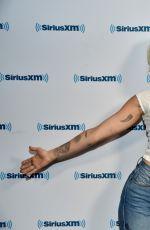 MILEY CYRUS at SiriusXM Radio in Los Angeles 05/12/2017