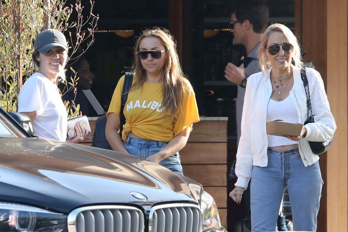 MILEY CYRUS at Soho House in Malibu 05/02/2017